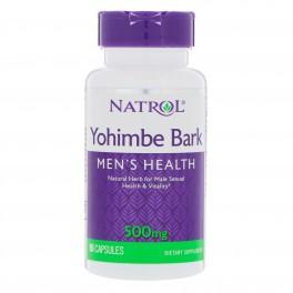 Natrol Yohimbe Bark 500 mg 90 капс